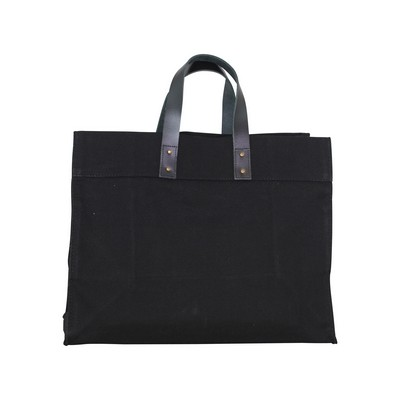 Advantage Utility Tote Black with Black Handles